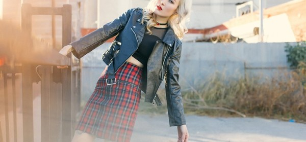 16 Stylish Ways to Wear Black Faux Leather Jacket this Fall