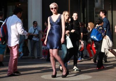 How to Wear Slip Dress as Daywear